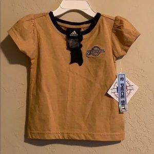 Girls Adidas Brewers Outfit New with tags